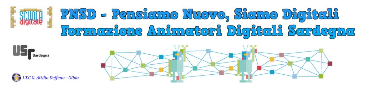 PNSD Sardegna (#PNSDsar) – Formazione Animatori Digitali