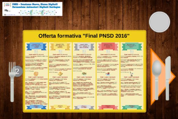 "Eventi ""Final PNSD 2016"""