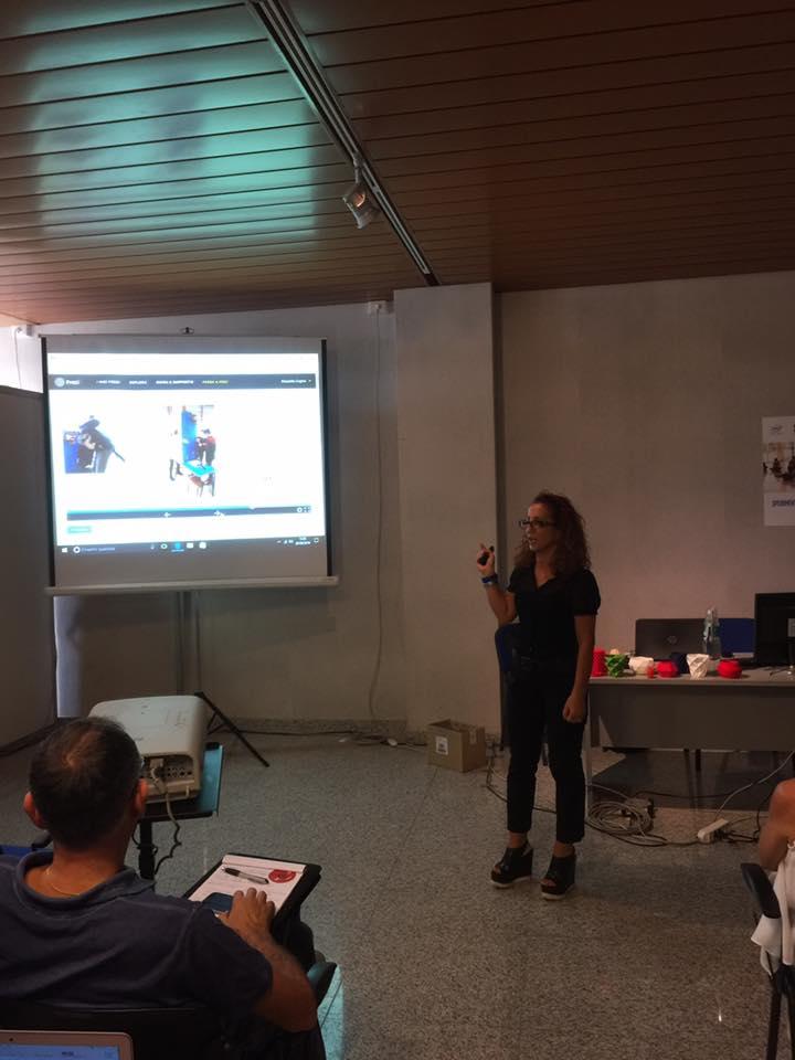 Il workshop di Rossella Coghe (foto di ARV)