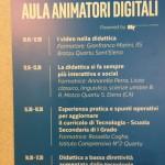 La locandina dell'Aula Animatori Digitali (foto di ARV)